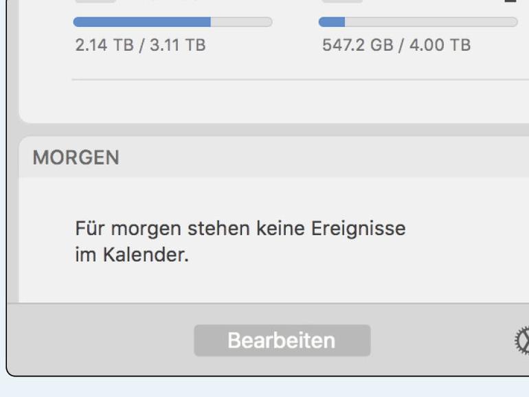 macOS maßgeschneidert: Das sind die besten Widgets