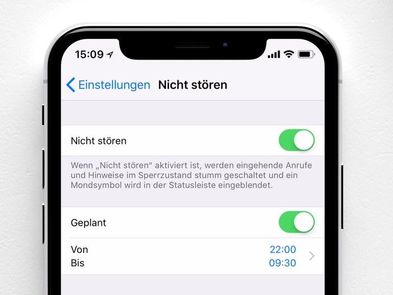 """Das stumme iPhone: So meistern Sie die """"Nicht Stören""""-Funktion"""