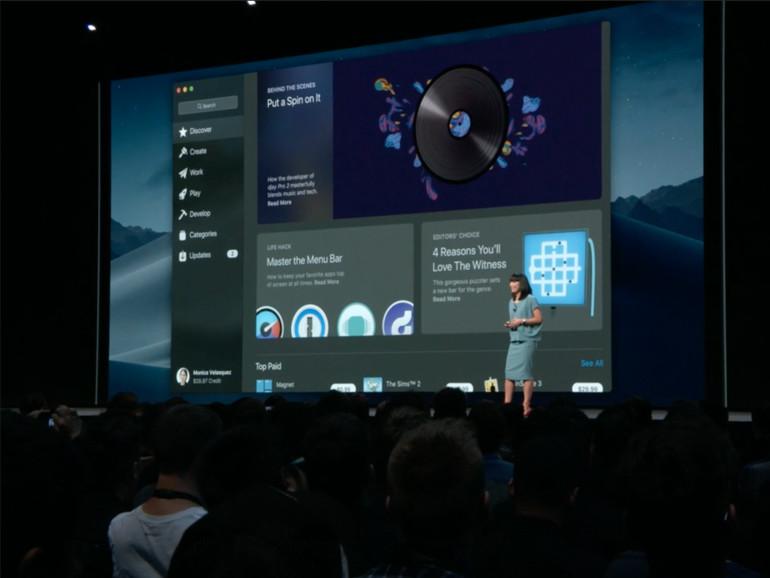 Der neue Mac App Store in macOS Mojave