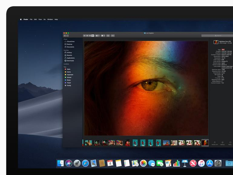 WWDC 2018: Apple stellt macOS Mojave vor