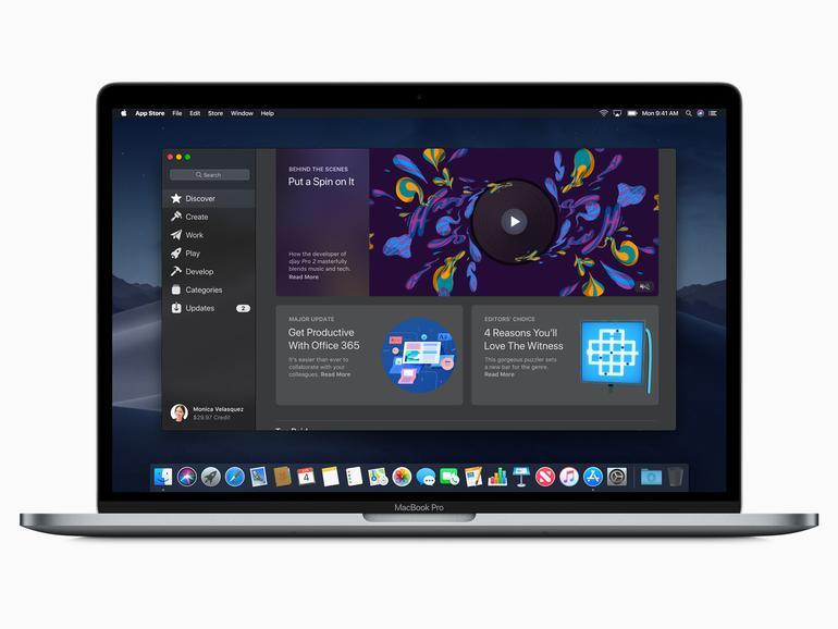 macOS 10.14 und sein neuer App Store