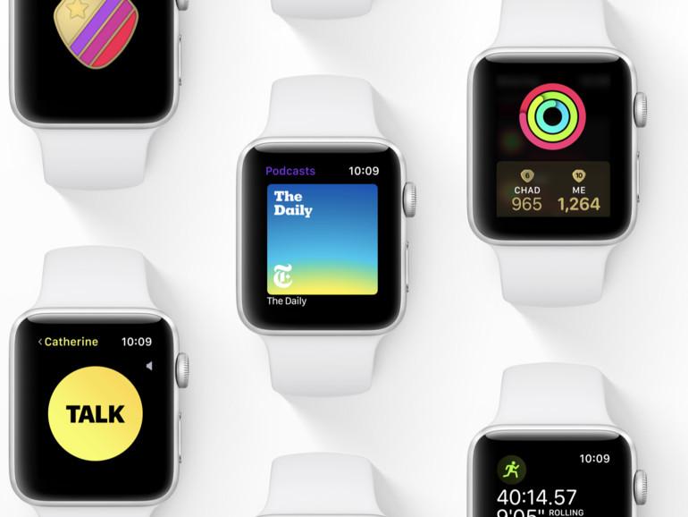 Kleine Schritte geht die Apple Watch mit dem Update auf watchOS 5.