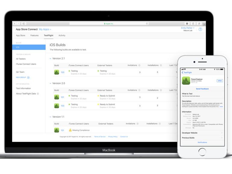 """Apple führt """"TestFlight Public Link"""" für öffentliche App-Tests ein"""