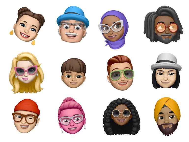 Die neuen Memoji können Sie auch in Facetime verwenden, um mit anderen zu sprechen