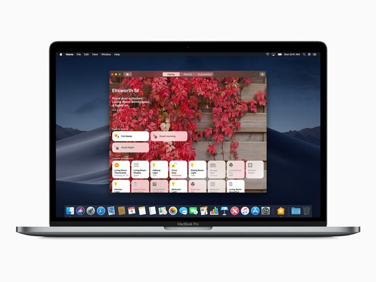 Die Home-App in macOS Mojave