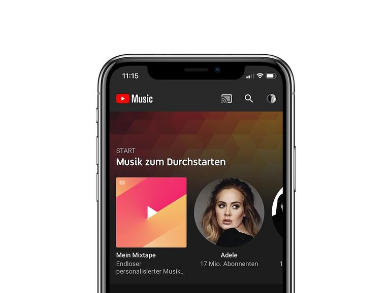 Google startet seinen neuen Streaming-Dienst YouTube Music auch in Deutschland