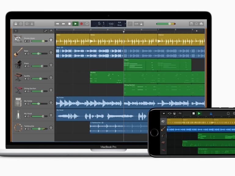 GarageBand am Mac nach Update mit neuen Effekten | Mac Life