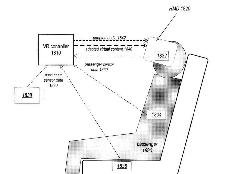 Apple-Patent für eine VR-Lösung in selbstfahrenden Fahrzeugen