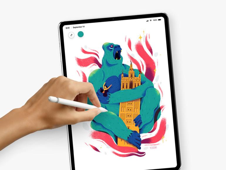 Wird so das iPad Pro mit Face ID aussehen?