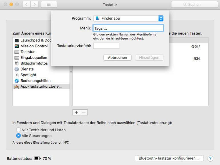 Tags und Etiketten am Mac: Ordnung ist die halbe Miete