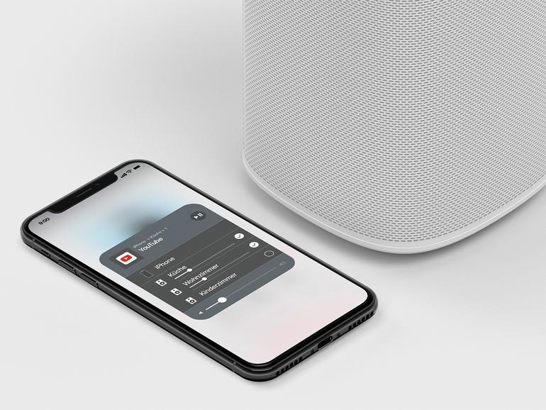 Sonos One mit AirPlay 2 - So aktualisieren Sie den