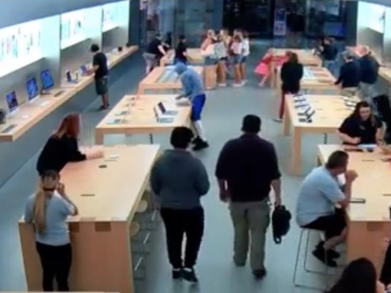 Apple-Produkte für 23.000 US-Dollar in wenigen Sekunden geklaut