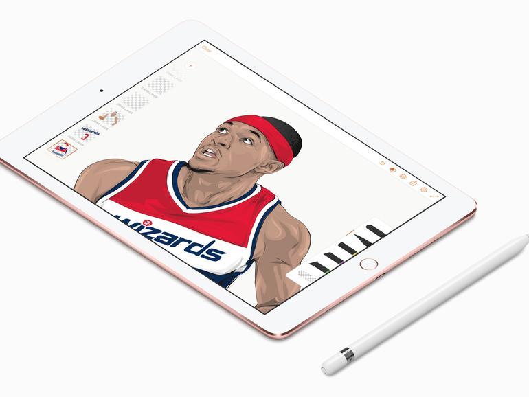 Illustration mit dem iPad von Rob Zilla