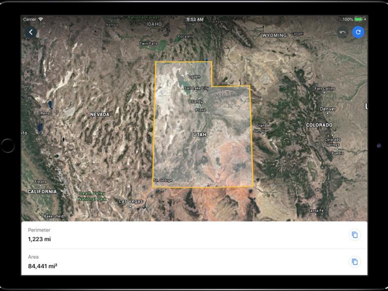 Google earth für ios erhält messwerkzeug mac life