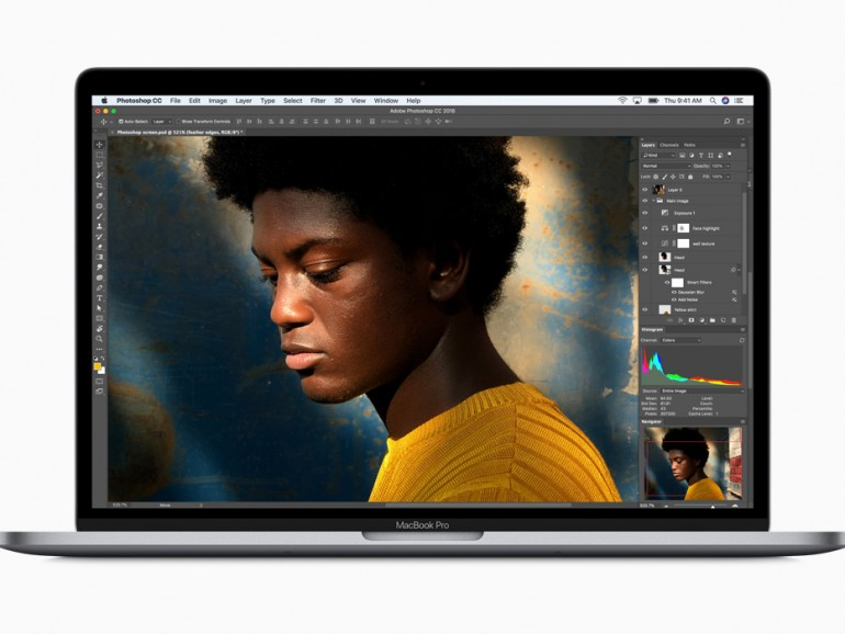 MacBook Pro 2018 mit True Tone Display