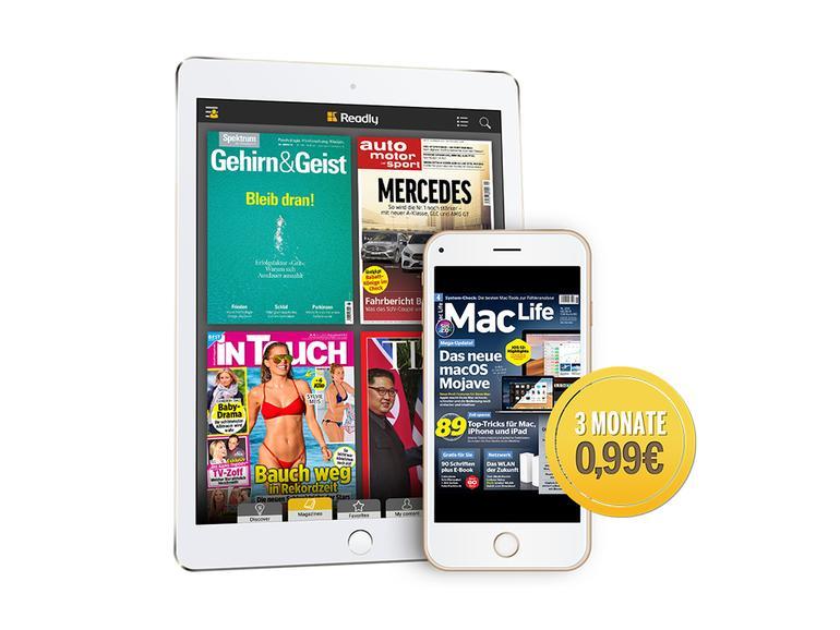 Readly bietet Lesern der Mac Life ein Super-Sommer-Angebot