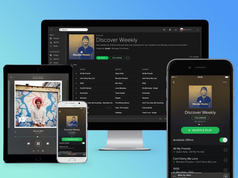 Vielfalt bei Spotify