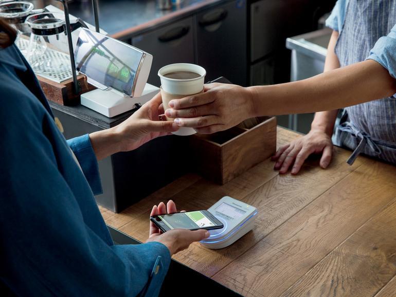 Mit Apple Pay den Kaffee bezahlen