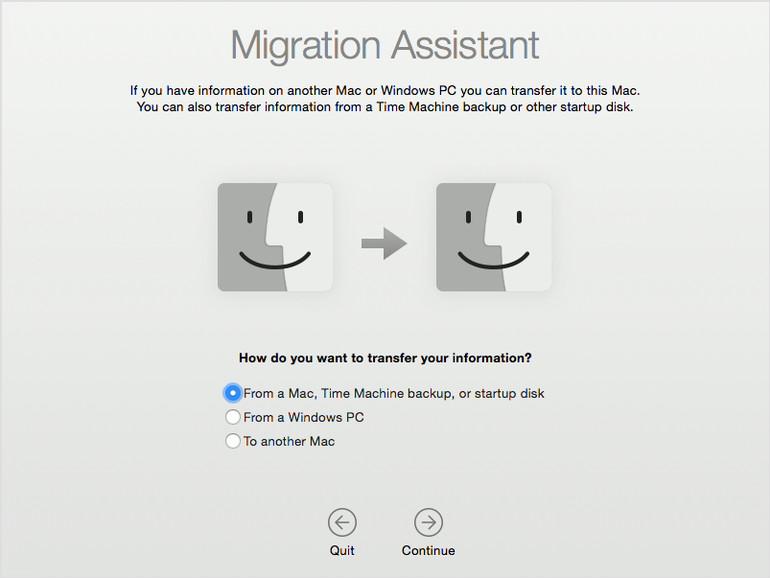 Mojave: Migrationsassistent für Windows-Switcher verbessert