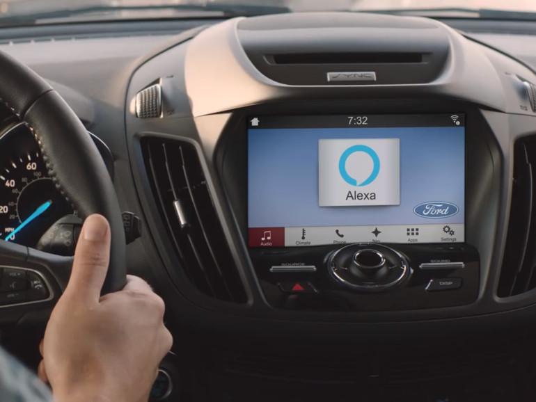 Alexa in einem Ford