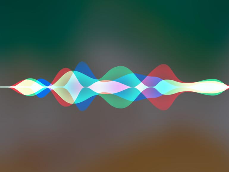 Siri interagiert mit dem Nutzer über ortsbasierte Sprachmodelle