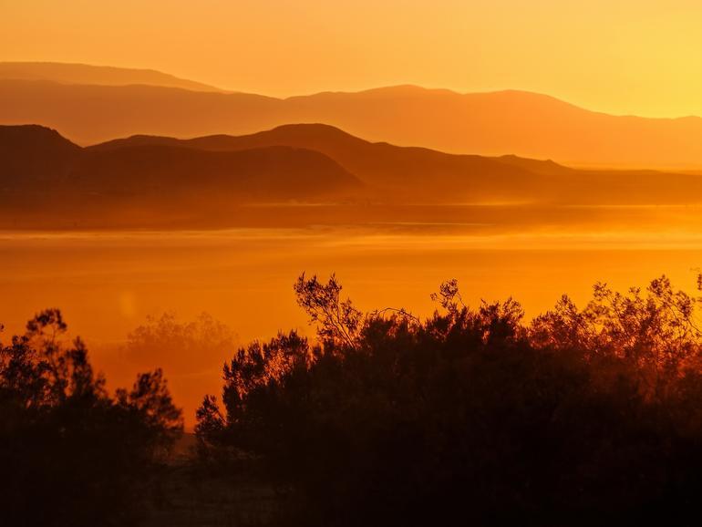 Der El Mirage See in der Mojave-Wüste