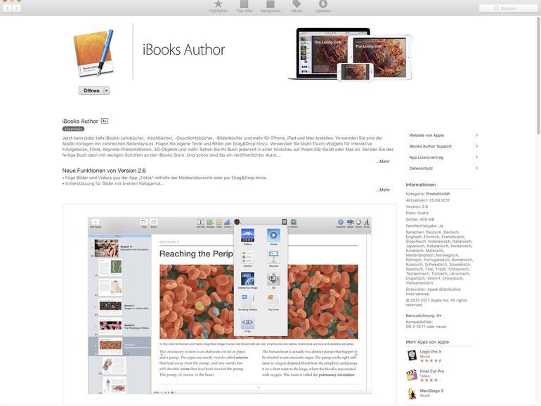 E-Books selbst schreiben mit iBooks Author