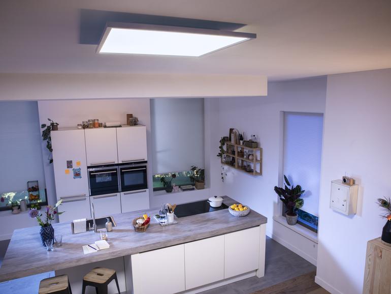 Philips Hue Aurelle in der Küche