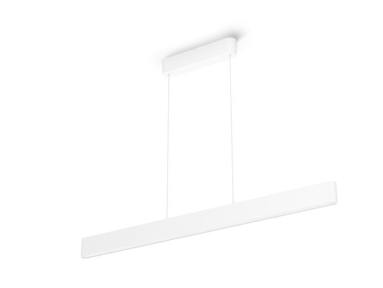 Philips Hue Ensis hat zwei Lichtpunkte – oben und unten, die sich separat steuern lassen