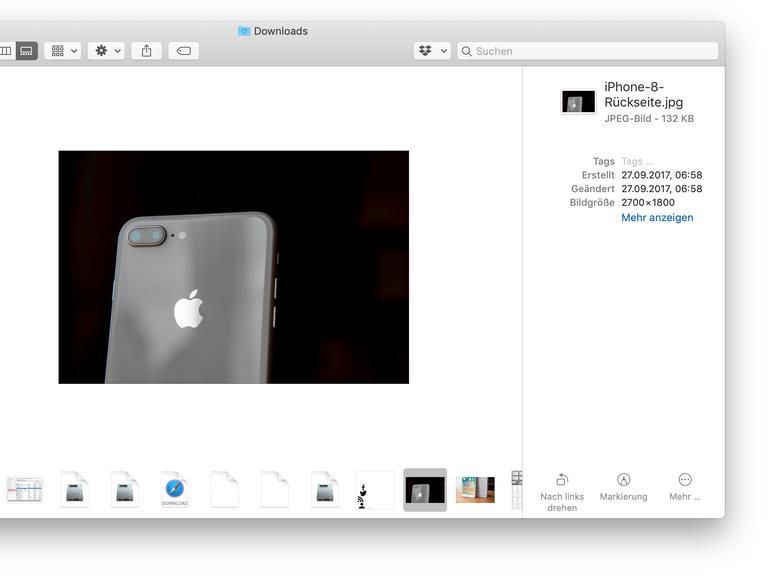macOS Mojave: So nutzen Sie die neuen Schnellaktionen im Finder