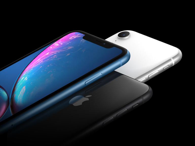 Das iPhone XR mit randlosem LCD-Display und FaceID