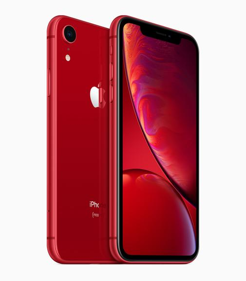 Das iPhone XR in PRODUCT RED