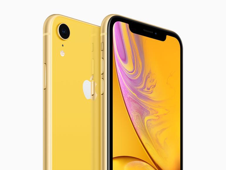 Das iPhone XR ist farbenfroh und nur in Details vom XS zu unterscheiden