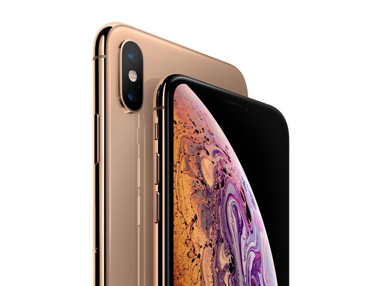 Das iPhone XS und XS Max gibt's im neuen goldenen Finish