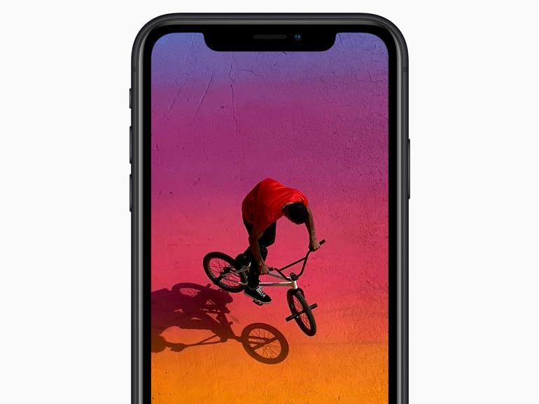 Auch das iPhone XR hat ein gutes Display