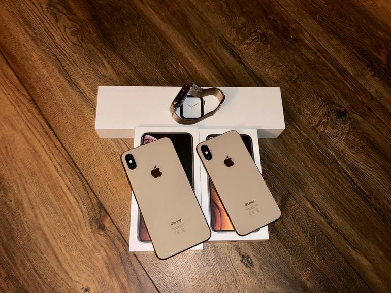 Goldige Zeiten bei Mac Life. Wir haben unsere iPhones und die neue Apple Watch schon im Test.