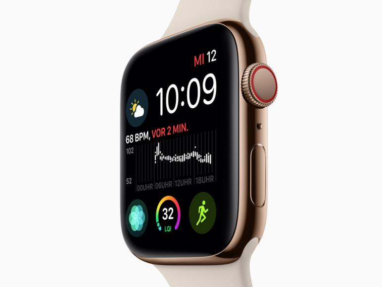 Apple Watch Series 4: Kardiologe hinterfragt die Genauigkeit des EKG