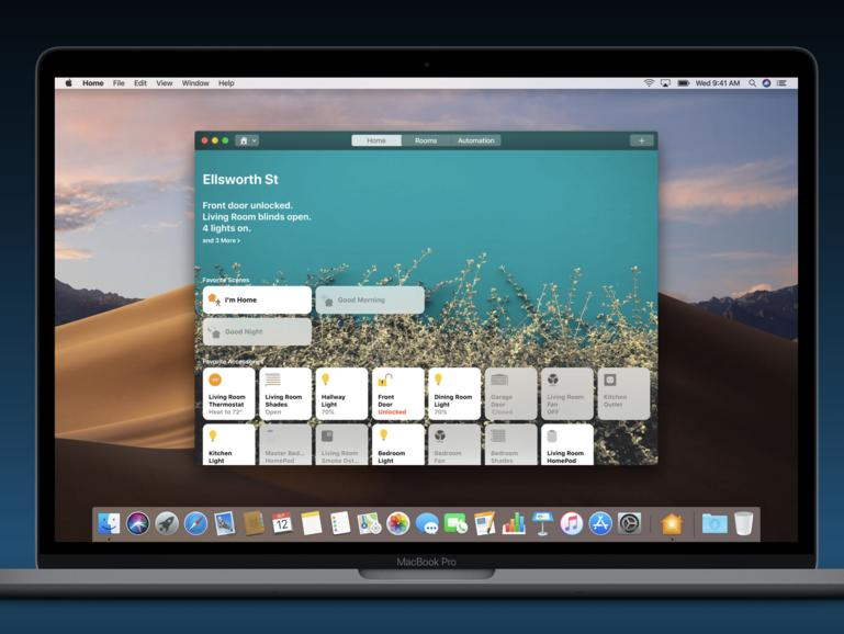 Home-App in macOS Mojave