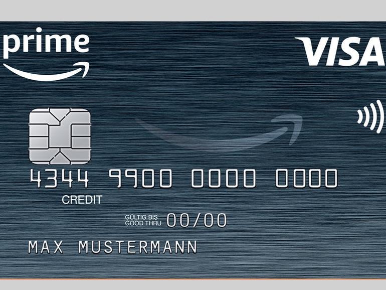 Amazon Prime Kreditkarte von Visa