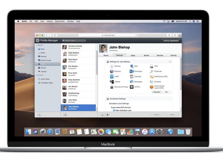 macOS Server Mojave nur noch ein Schatten früherer macOS