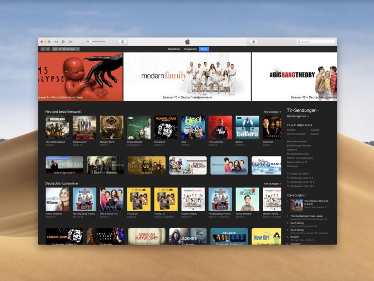 Betrügt Apple bei den Staffelpässen in iTunes?