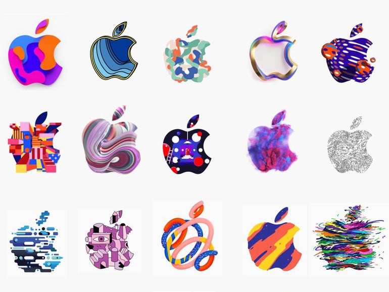Bisher sind 370 verschiedene Apple-Logos auf den Einladungen gesichtet worden