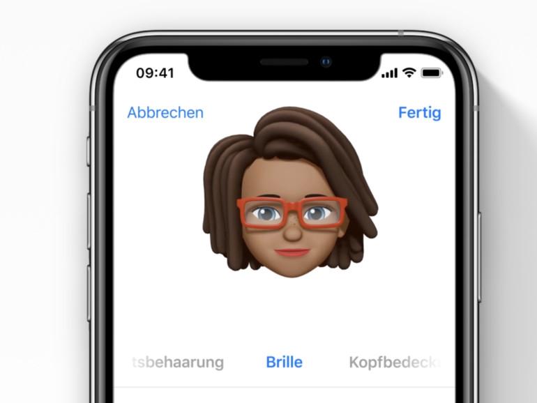 iOS 12: Mehrere Memojis erstellen und verwalten
