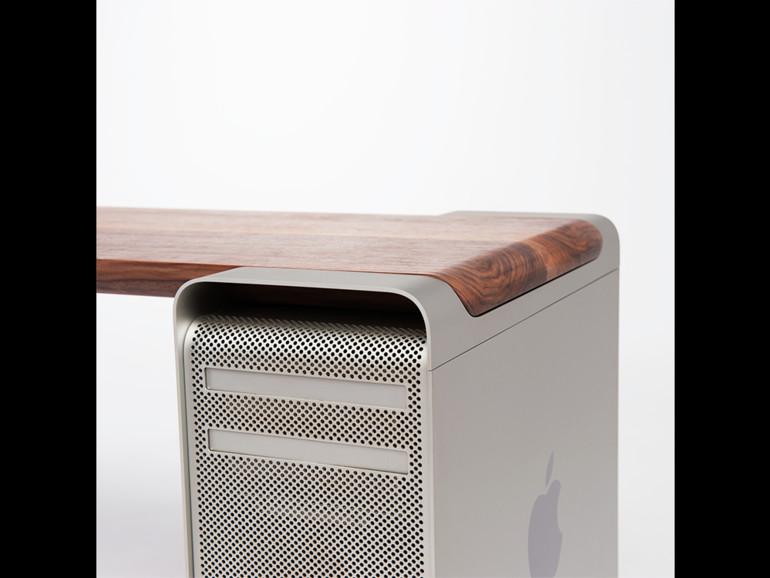 So lässt sich der PowerMac G5 als Möbelstück weiterverwenden