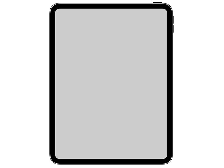 So soll das neue iPad Pro 2018 aussehen