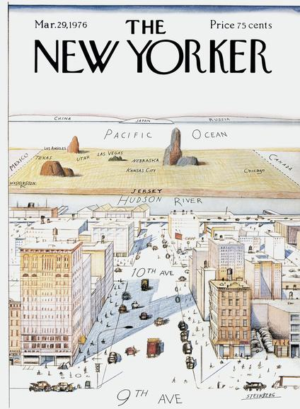 New Yorker Magazine, Cover von 1976