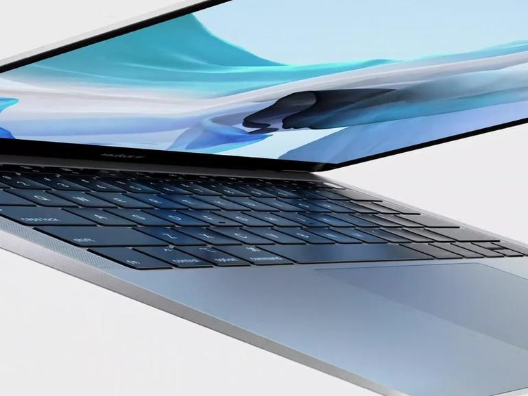 Das neue MacBook Air mit Touch ID