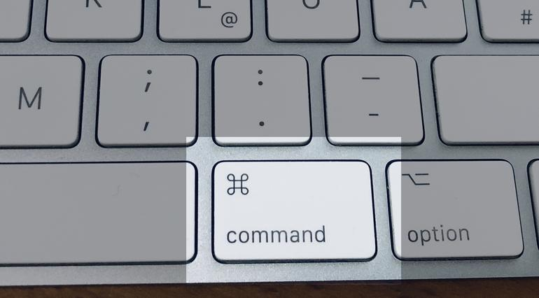 Command-Taste am Mac