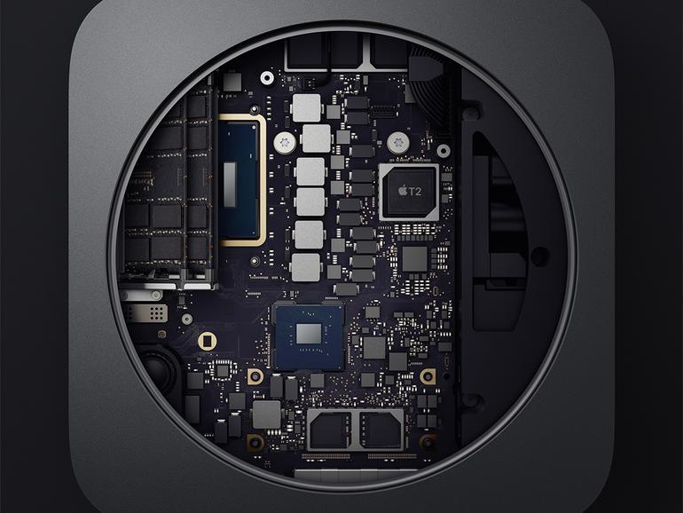 Der neue Mac mini, bei dem der Speicher erweiterbar ist