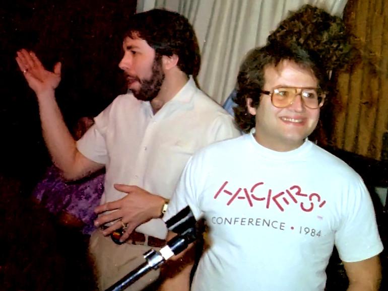 Andy Hertzfeld (rechts) neben Steve Wozniak